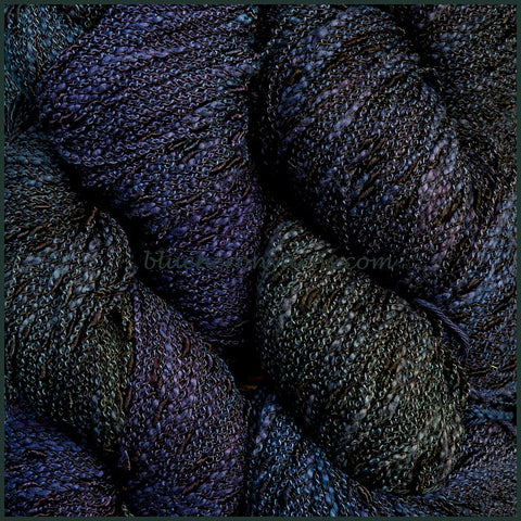 Deep Space Cotton Rayon Seed Yarn