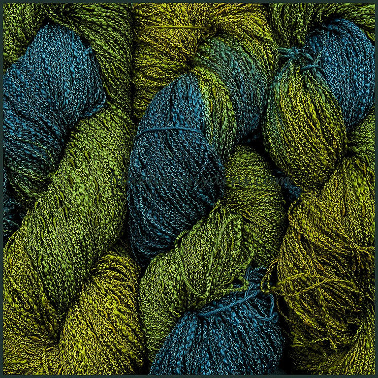Deep Forest Cotton Rayon Seed Yarn