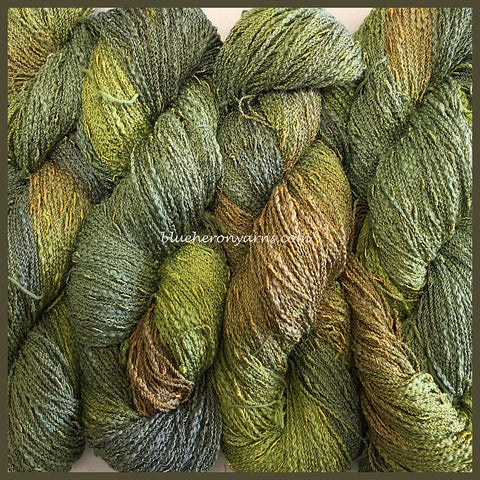 Leaf Cotton Rayon Seed Yarn