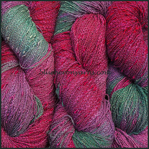 Lilac Cotton Rayon Seed Yarn