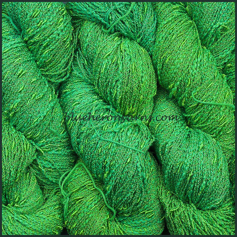 Lime Cotton Rayon Seed Yarn