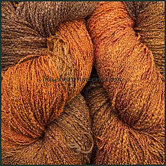 Pumpkin Pie Cotton Rayon Seed Yarn