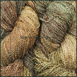Walnut Cotton Rayon Seed Yarn