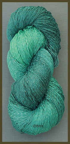 Marine Cotton Rayon Twist Lace Yarn