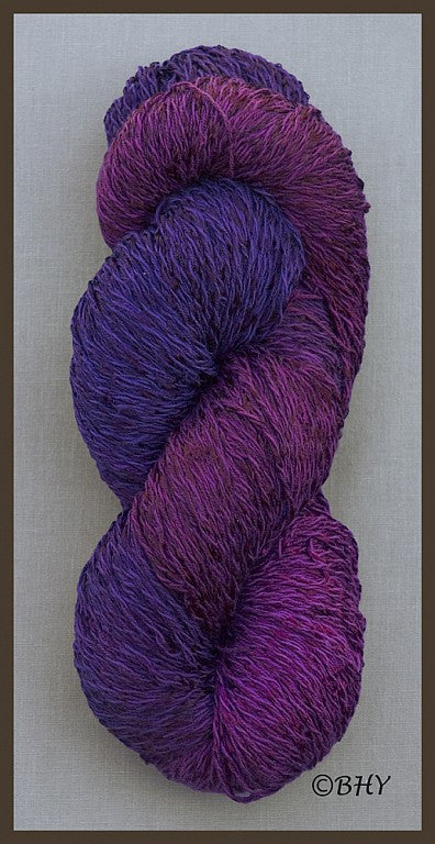 Blueberry Cotton Rayon Twist Lace Yarn