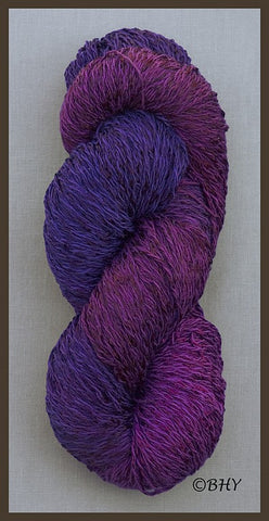 Blueberry Cotton Rayon Twist Yarn