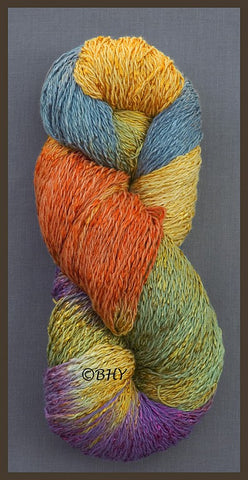 Daffodil Cotton Rayon Twist Lace Yarn