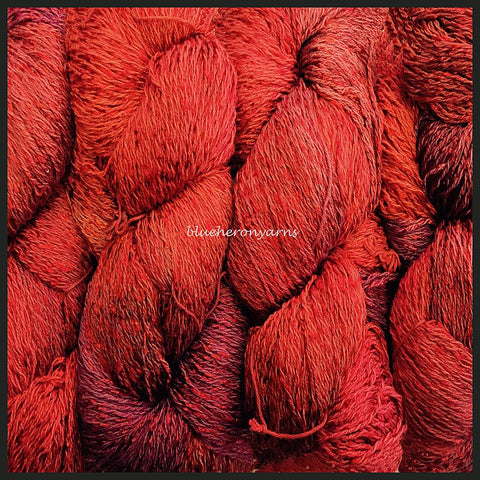 Carnelian Cotton Rayon Twist Lace Yarn