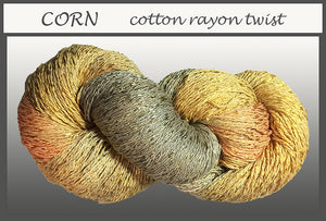 Corn Cotton Rayon Twist Yarn