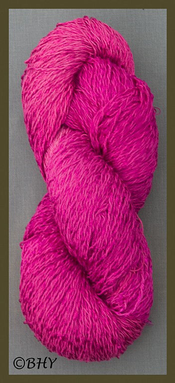 Berry Cotton Rayon Twist Yarn