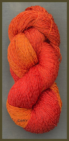 Poppy Cotton Rayon Twist Yarn