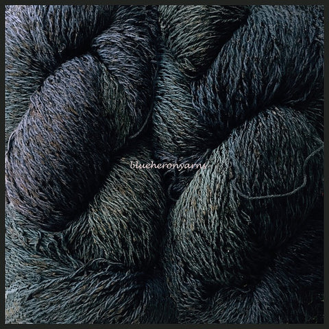 Deep Space Cotton Rayon Twist lace Yarn