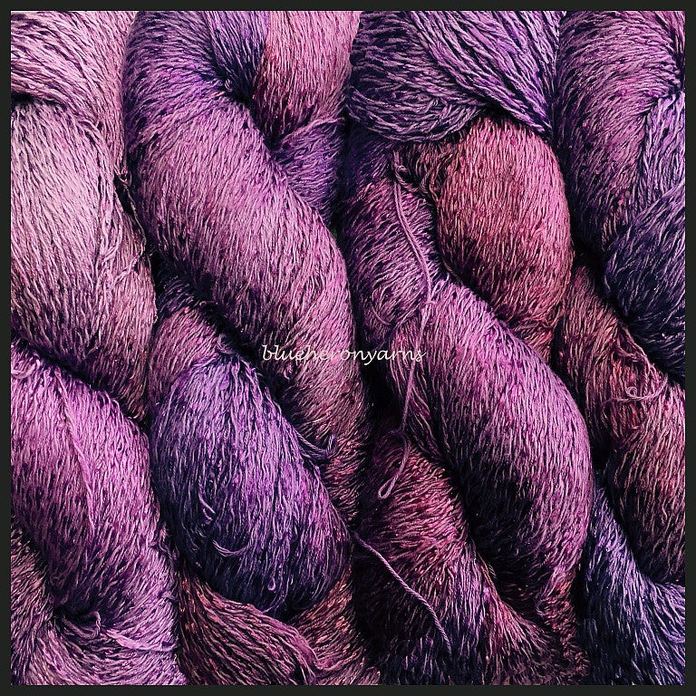 Grape Cotton Rayon Twist Yarn