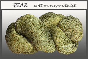 Pear Cotton Rayon Twist Yarn