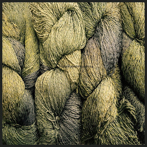 Sage Cotton Rayon Twist Lace Yarn