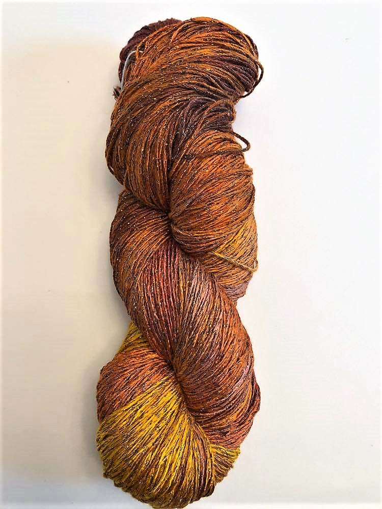 Curry Rayon Metallic Yarn