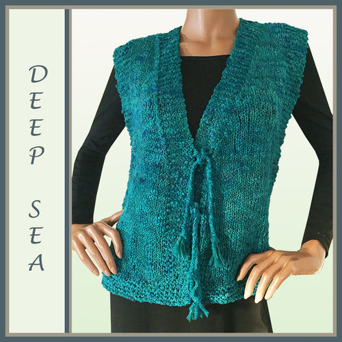 Deep Sea Wool Vest