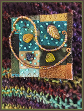 Quilted Pin: Falling Leaves Blow