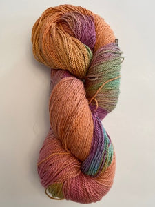 Deep Copper Organic Cotton Yarn