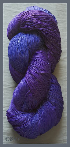 Blue Violet Egyptian Merc Cotton Yarn
