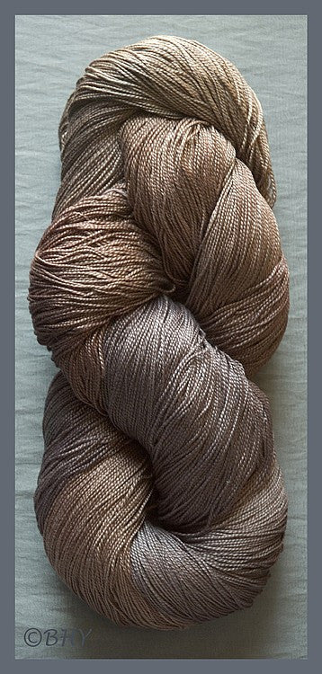 Milk Chocolate Egyptian Merc Cotton Yarn