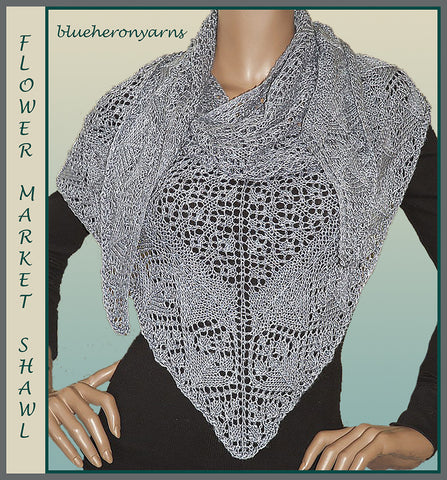 Flower Market Shawl