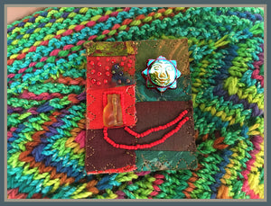 House Cat Quilted Pin