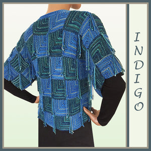 Indigo Mitered Jacket