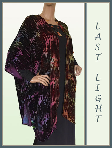 Last Light Silk/Rayon Ruana