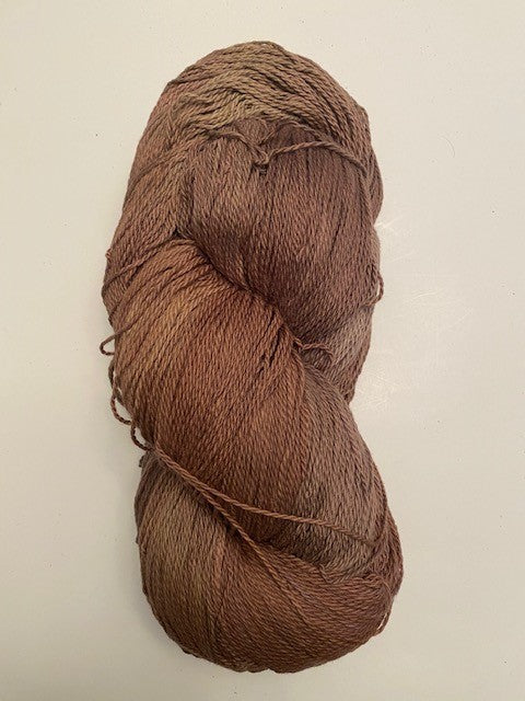Milk Chocolate organic cotton yarn