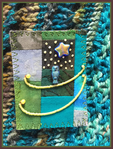 Quilted Pin: Night Owl