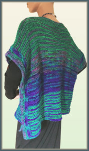 Night Sea Poncho
