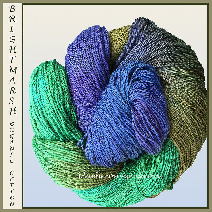A New Color: Brightmarsh Organic Cotton Yarn