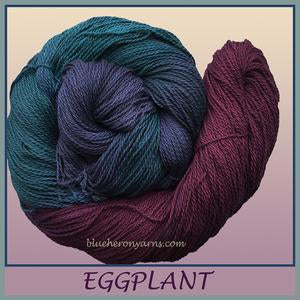 Eggplant Organic Cotton Yarn
