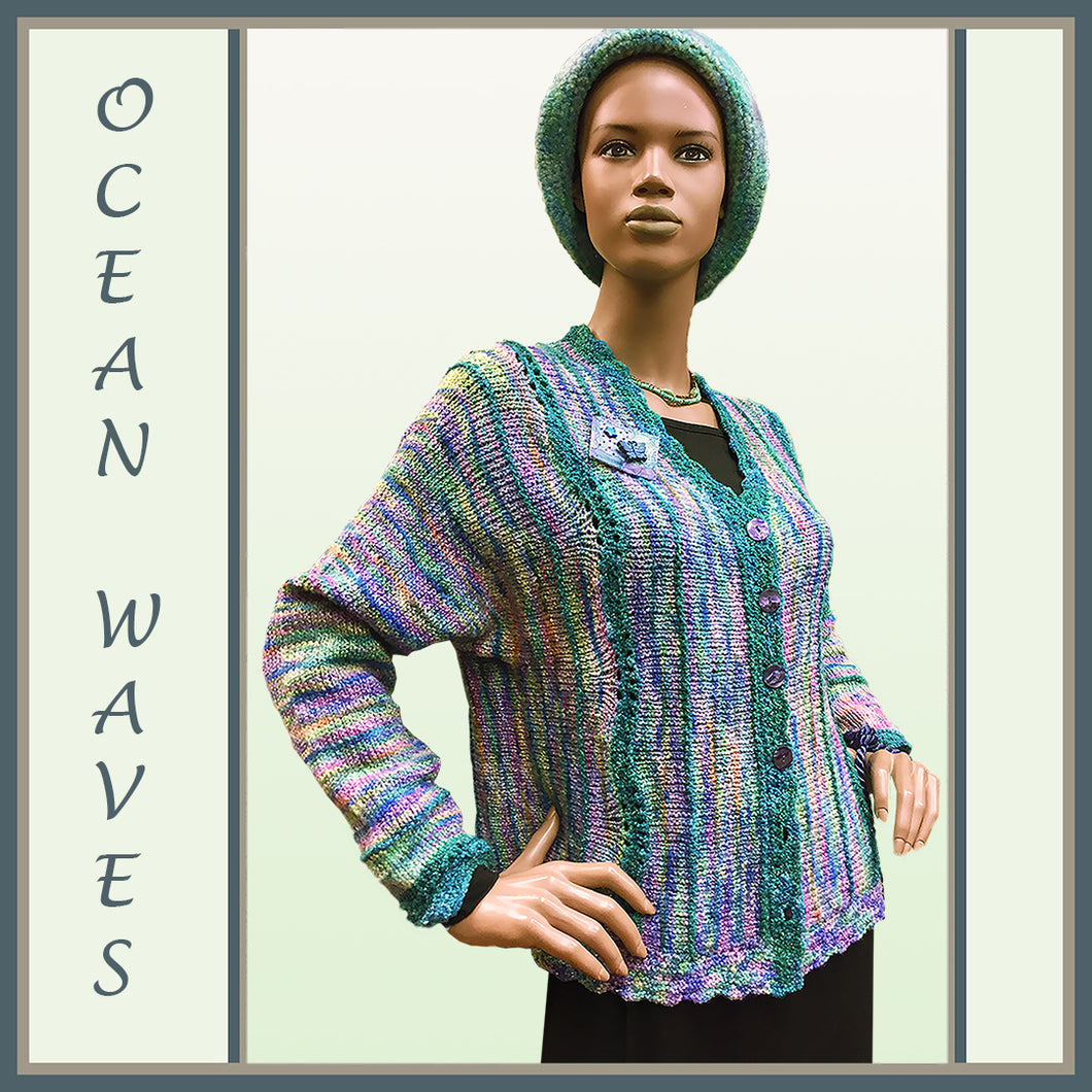 Ocean Waves Jacket
