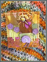 Other World Quilted Pin