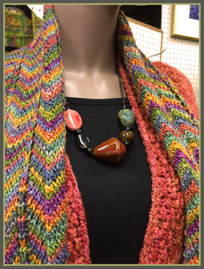 Bright Redwood Scarf