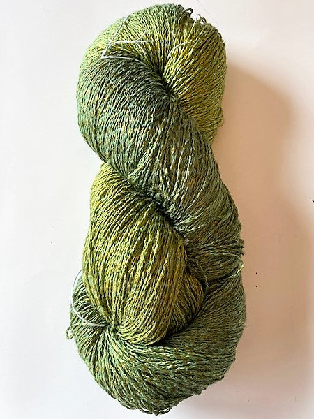 Pear cotton rayon twist lace yarn