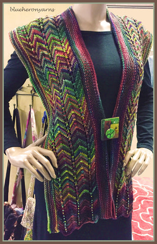 Forest Rainbow Scarf/Pin