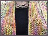 Rainbow Scarf: Harvest Scarf and Butterfly Chase Pin