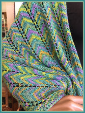 Spring Marsh Rainbow Shawl