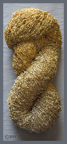 Antique Gold Rayon Loop Yarn