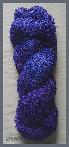 Blue Violet Rayon Loop Yarn