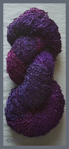 Blueberry Rayon Loop Yarn