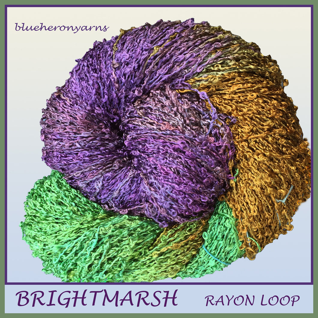 Brightmarsh Rayon Loop Yarn