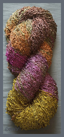Curry Rayon Loop Yarn