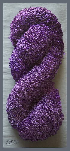 Grape Rayon Loop Yarn