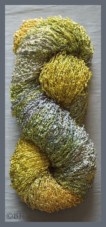 Leaf Rayon Loop Yarn