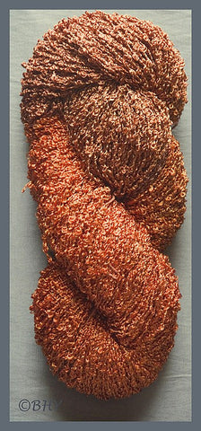 Pumpkin Pie Rayon Loop Yarn