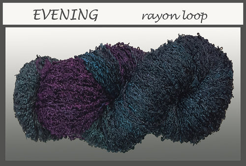 Evening Rayon Loop Yarn